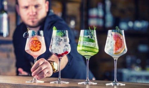Trabajo de barman en restaurantes
