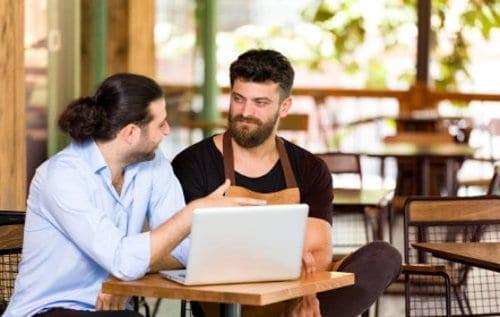 Trabajo de contador en restaurantes