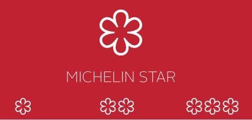 estrellas michelin, una estrella michelin, dos estrellas michelin y tres estrellas michelin en los restaurantes imagen