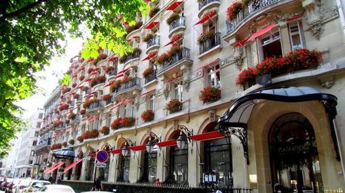 Hotel Plaza Athenèe, Francia - hoteles más caros del mundo