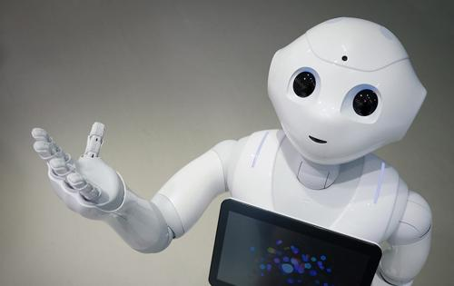 Pepper es un robot humanoide