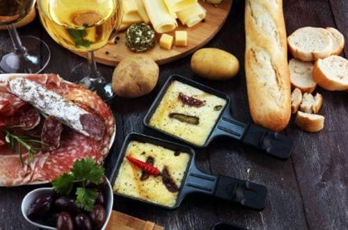 Raclette - Entradas de comida francesa