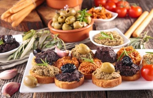 Tapenade - Entradas de comida francesa