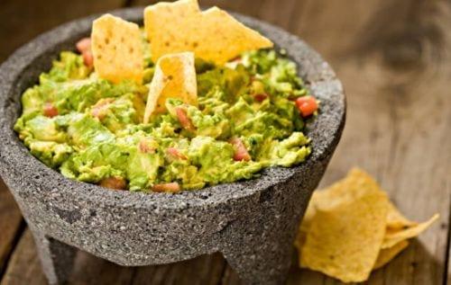 Guacamole - comida mexicana tradicional facil y rapido