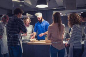 Lo que aprendes en la escuela de gastronomia
