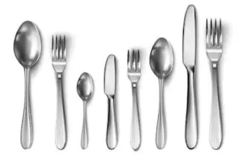 Tipos de cubiertos y su colocación en la mesa