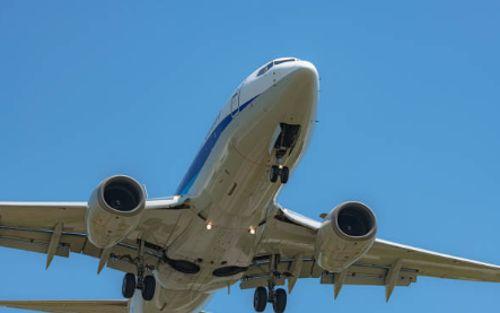 Fuselaje de un avión comercial