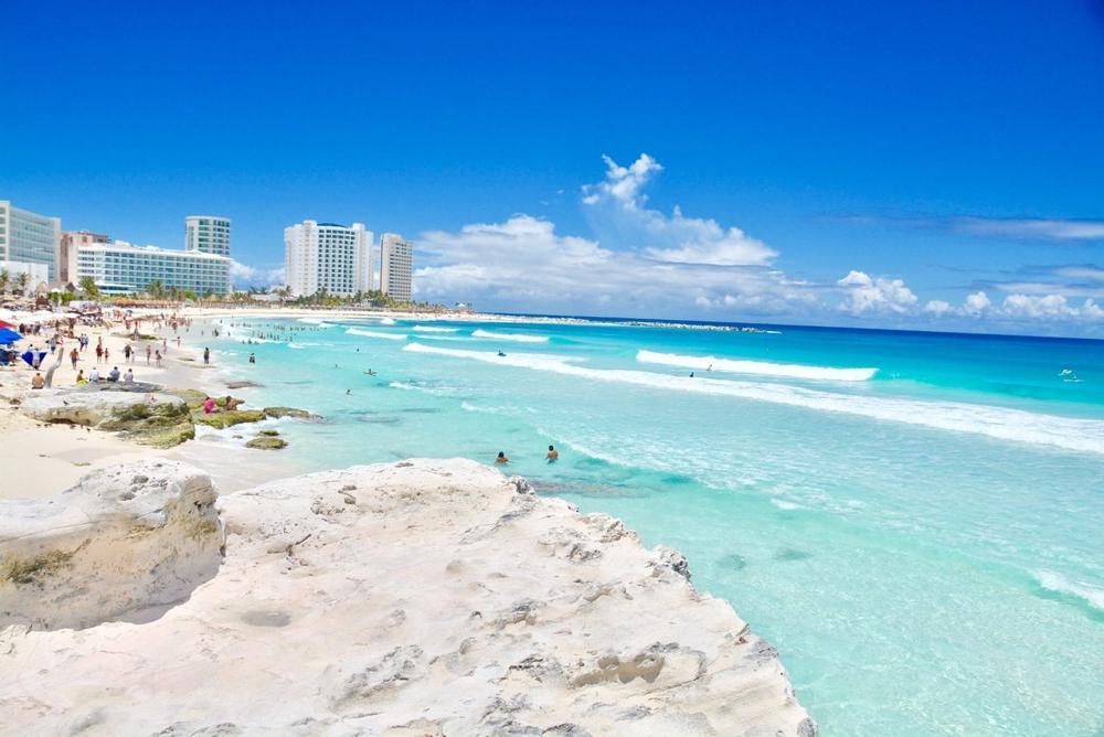 Playa Chacmool en Cancun: Un lugar Paradisíaca