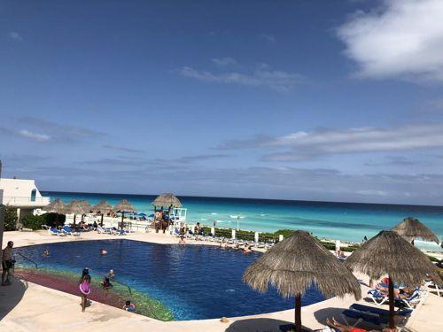 playa propiedad hotel zona Cancún