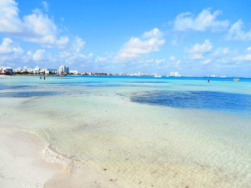Clima de playa langosta