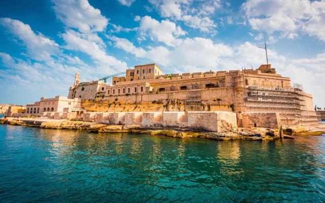 El Fuerte embrujado en Malta Saint angelo