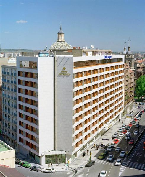 Antiguo hotel corona de Aragon ahora Melia Zaragoza hotel embrujado