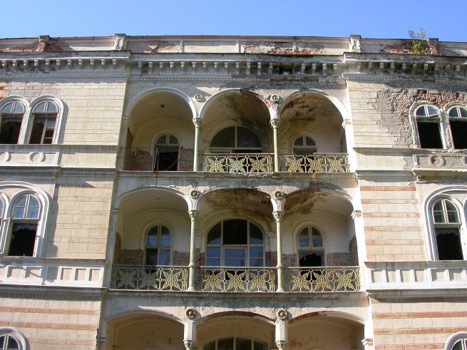 Hotel Decebal en Rumania embrujado