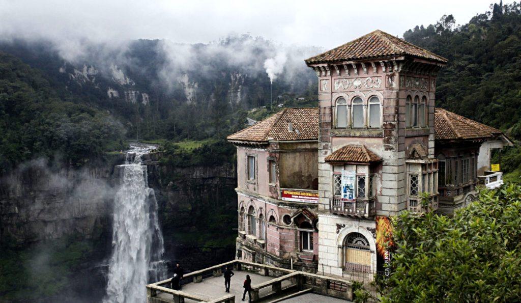 el hotel embrujado mas famoso hotel del salto en colombia