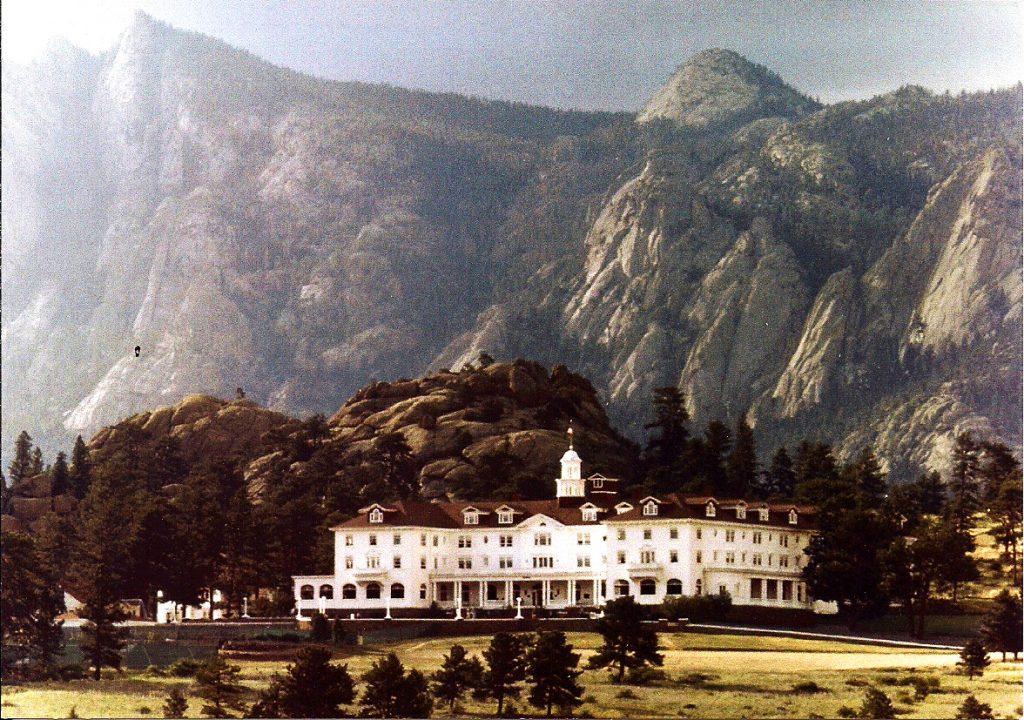 Stanley Hotel en Colorado, EEUU. que inspiro el libro el resplandor de stephen king y posteriormente la pelicula de Stanley Kubrick El resplandor basada en el mismo libro