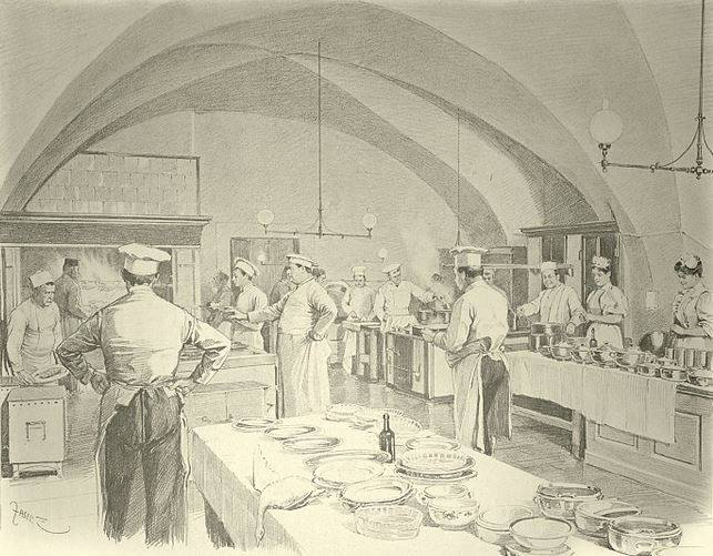 Historia del Chef saucier