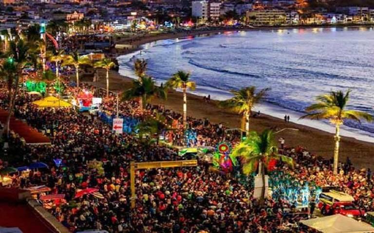 desfile en el mar